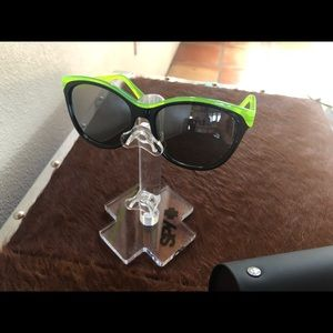 Marc by Marc Jacobs lime green & black sunglasses